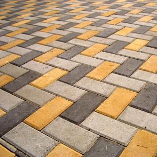 Тротуарная плитка Брусчатка в Волгограде